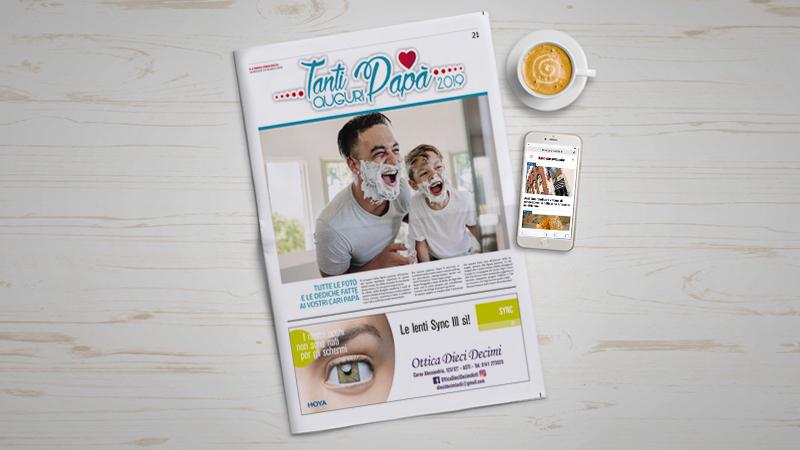 Festa del Papà: sul giornale tutte le vostre foto con dedica