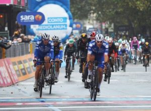 Giro d'Italia arrivo di tappa ad Asti