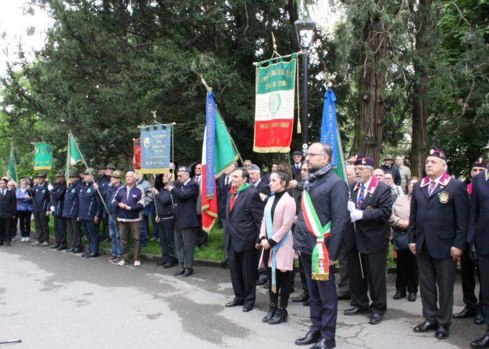 Un momento della festa del 25 Aprile ad Asti
