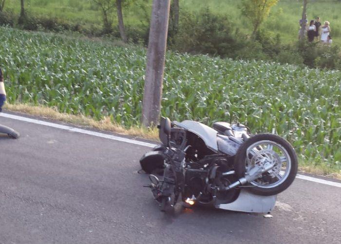 Valleandona incidente scooter