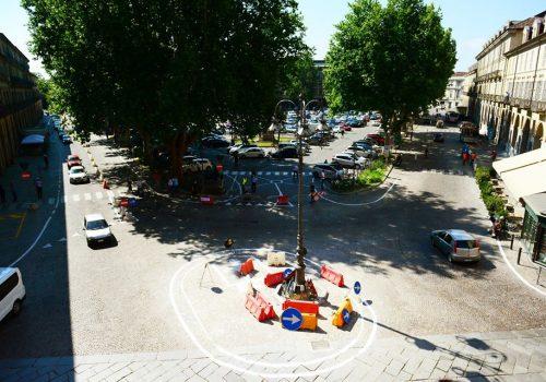 doppio senso di marcia in piazza Alfieri