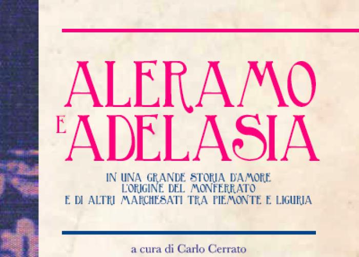 La copertina del libro sulla storia d'amore tra Aleramo e Adelasia