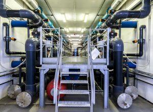 L'impianto di depurazione dell'acquedotto di Asti