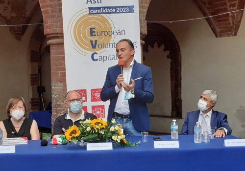 Asti Capitale Europea del Volontariato visita di Alberto Cirio2
