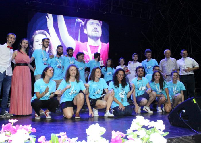 Asti God's Talent 2019 staff