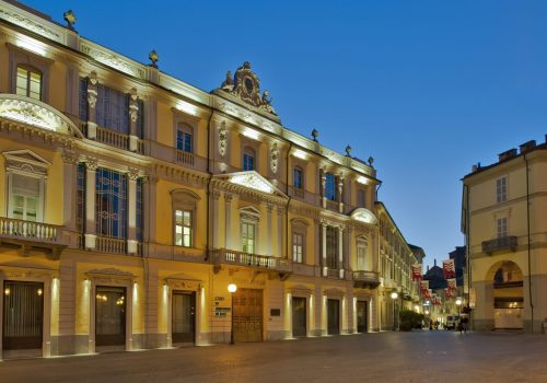 La sede della Banca di Asti