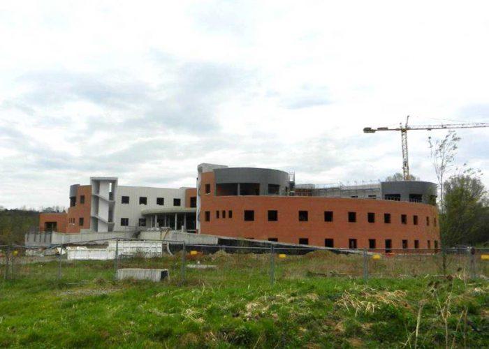La struttura sanitaria dei Boidi ancora in costruzione