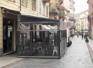 Corso Alfieri con poca gente