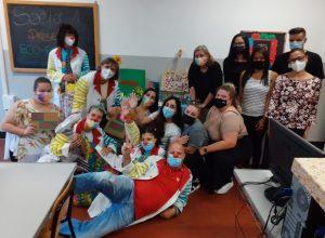 Castigliano e associazione clown