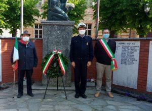 Cerimonia 25 aprile a Buttigliera d'Asti