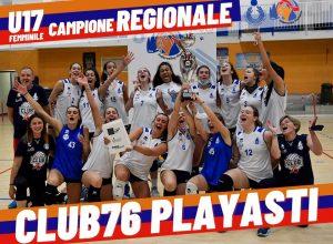 Club76 PlayAsti Brumar Fenera U17 campione regionale Fipav 1