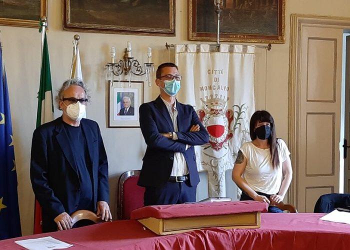 Conferenza stampa Moncalvo