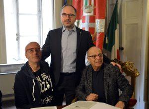 Massimo Cotto, Maurizio Rasero e Gianfranco Imerito