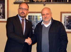 Il sindaco Maurizio Rasero di Asti e Maurizio Marello di Alba
