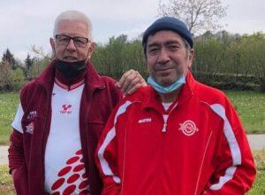 Da sinistra Pescatori Andrea e Biolcati Maurizio
