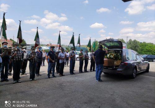 I funerali di Francesco Fantino