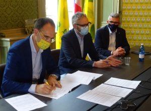 Firma accordo Coldiretti Rigamenti per la Bresaola piemontese