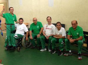 Gli atleti del GSH Pegaso a Subiaco