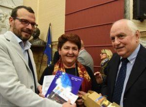 Marco Goria con il Ministro Bellanova e Carlo Cerrato