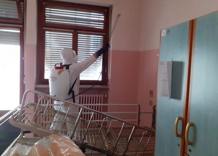 sanificazione covid casa di riposo città di asti