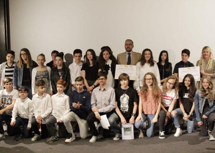 Gli studenti premiati al concorso dedicato a Enrica Jona