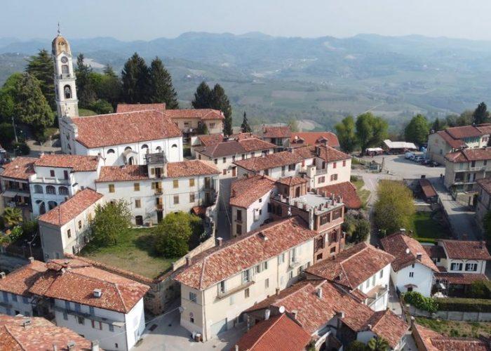 La chiesa di San Giacomo nelle immagini riprese dal drone