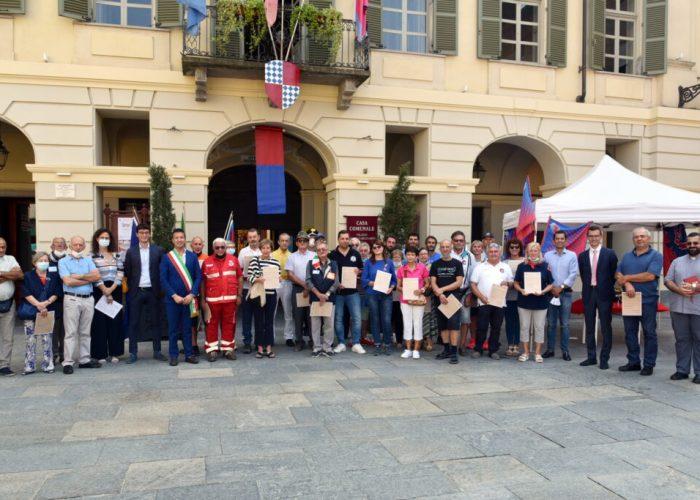Le associazioni sandamianesi della festa del volontariato