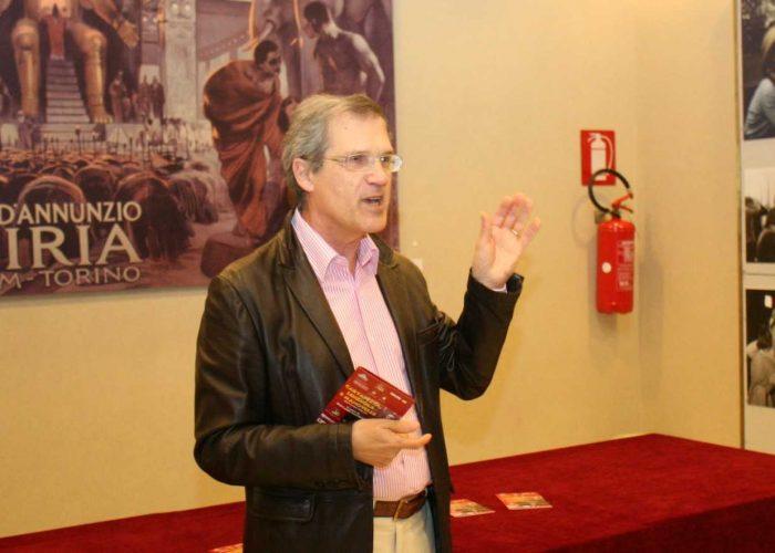 Lo scrittore Livio Musso