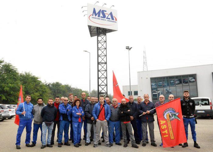 MSA sciopero ottobre 2018