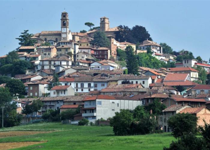 Panoramica di Montiglio Monferrato