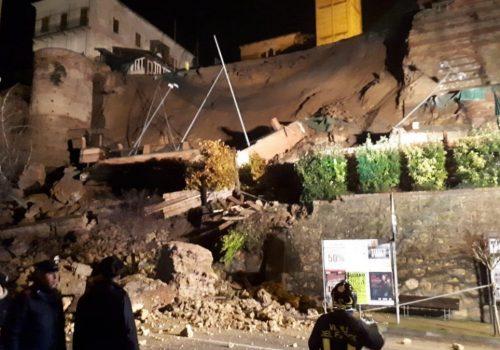 Muro crollato di Moncalvo