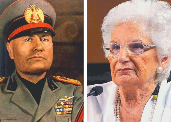 Mussolini e Segre