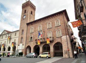Il palazzo comunale di Nizza Monferrato