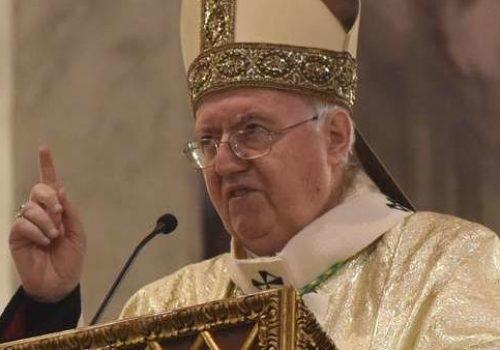 L'arcivescovo di Torino Cesare Nosiglia