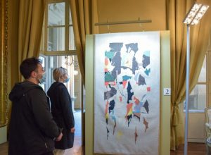 Palazzo Mazzetti mostra arazzi visitatori