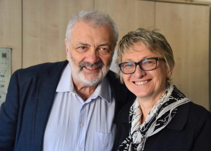 Pier Giorgio Bricchi e Vittoria Maggiorotto