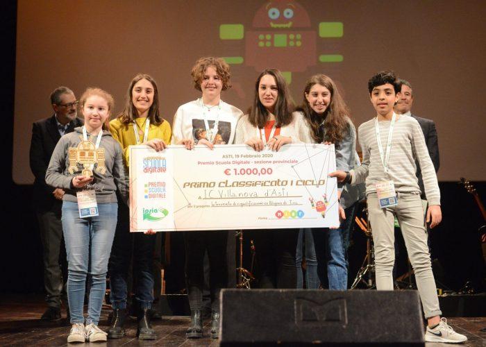 Premio Scuola digitale istituto comprensivo di Villanova