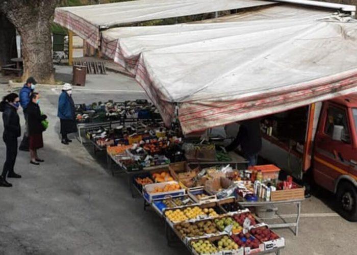 Primo banco del mercato di Albugnano