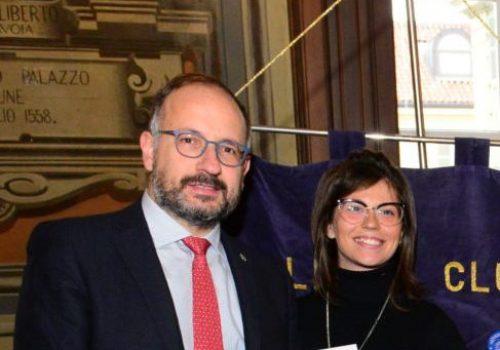 Maurizio Rasero ed Elisa Pietragalla