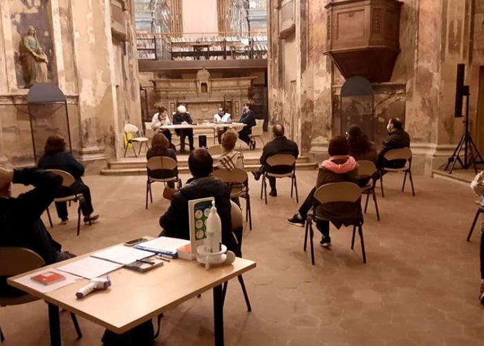 Prima riunione per la Pro Loco nella ex chiesa dei Batù