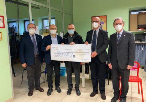 Rotary Club donazione Caritas 2021