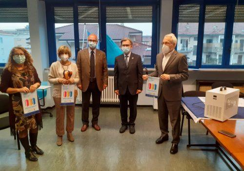 Rotary Club donazione apparecchi sanificatori