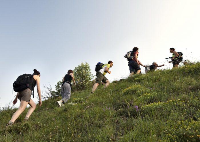 Trakking tra le colline