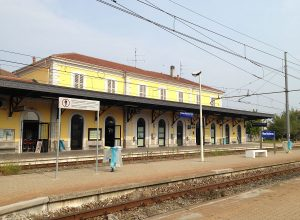 La stazione di Nizza Monferrato