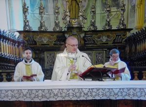 Vescovo Prastaro Messa Pasqua 2020