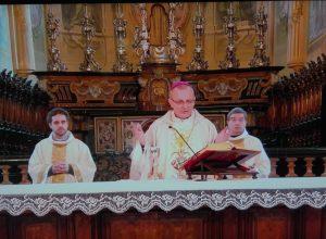 Messa in streaming diocesi di Asti 19 aprile 2020