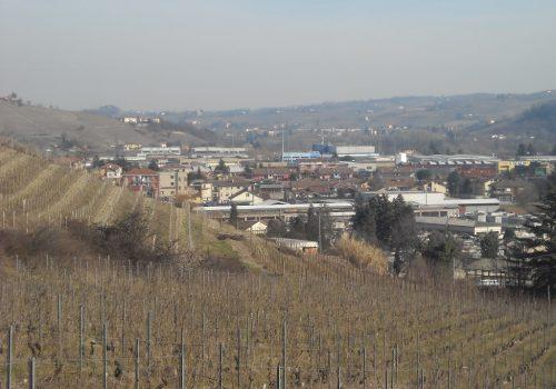 Vigne e zona industriale