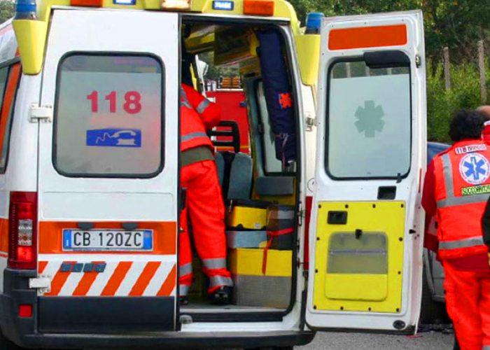 investito ambulanza