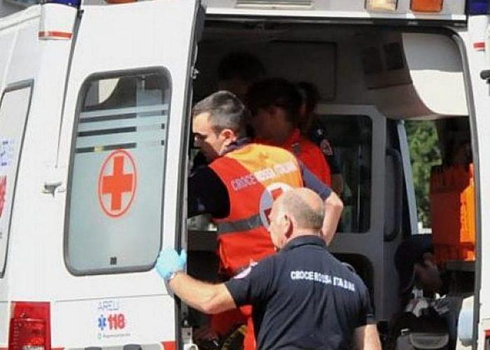 Intervento dell'ambulanza