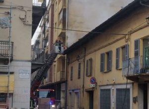Incendio Canelli via Alfieri